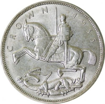 1935 George V Silver Crown